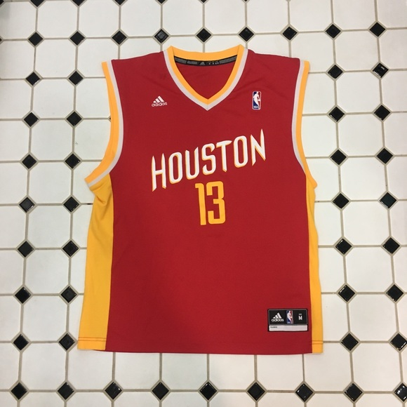 new concept 31c19 602f8 James Harden Houston Rockets Jersey